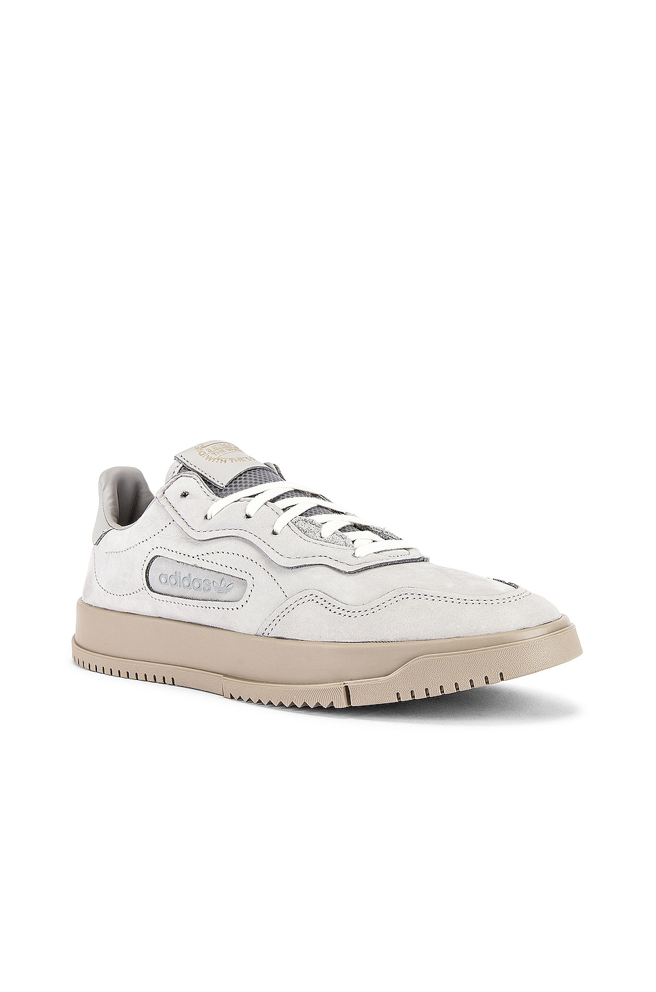 Image 1 of adidas Originals SC Premiere in Grey Two F17 & Grey Two F17 & Light Brown