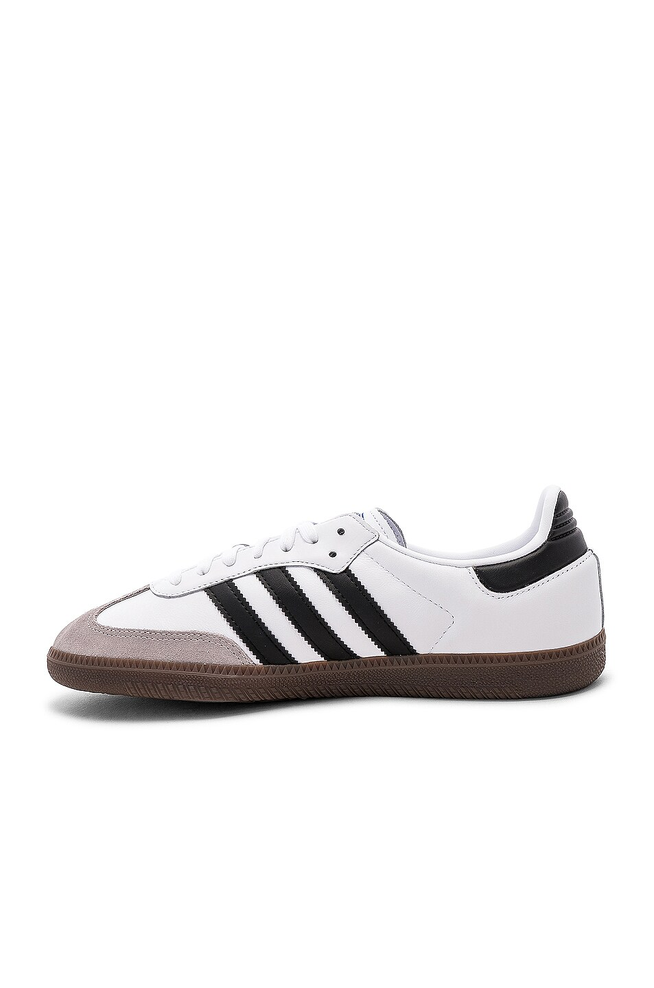 Image 5 of adidas Originals Samba in White & Black & Clear Granite