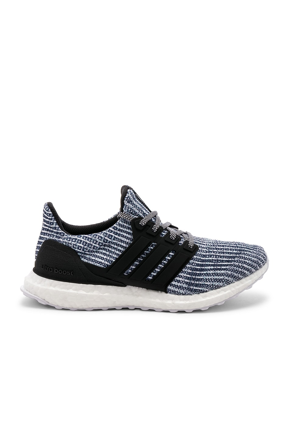 Image 1 of adidas Originals Ultraboost Parley in Black & Grey