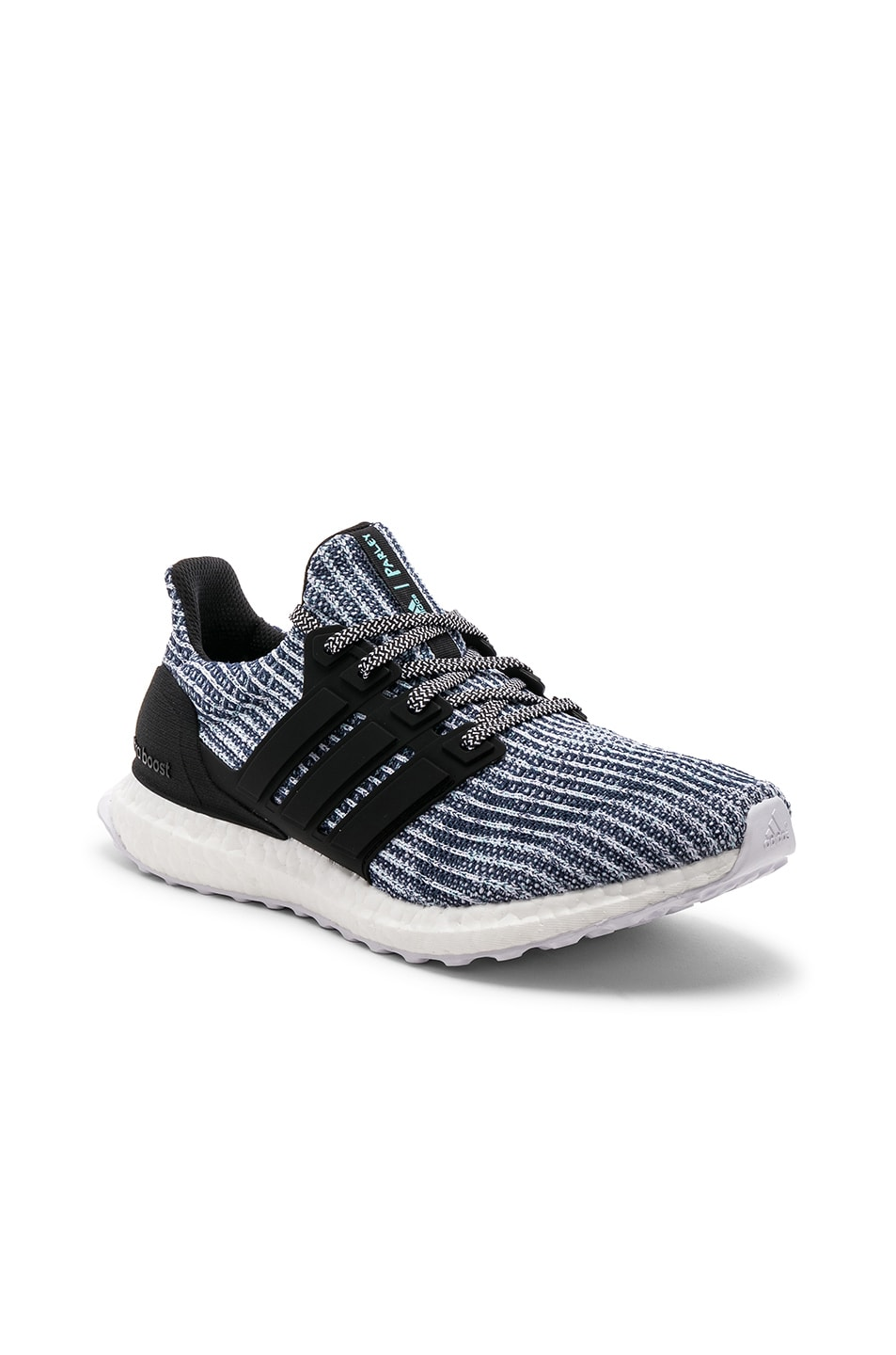 Image 2 of adidas Originals Ultraboost Parley in Black & Grey