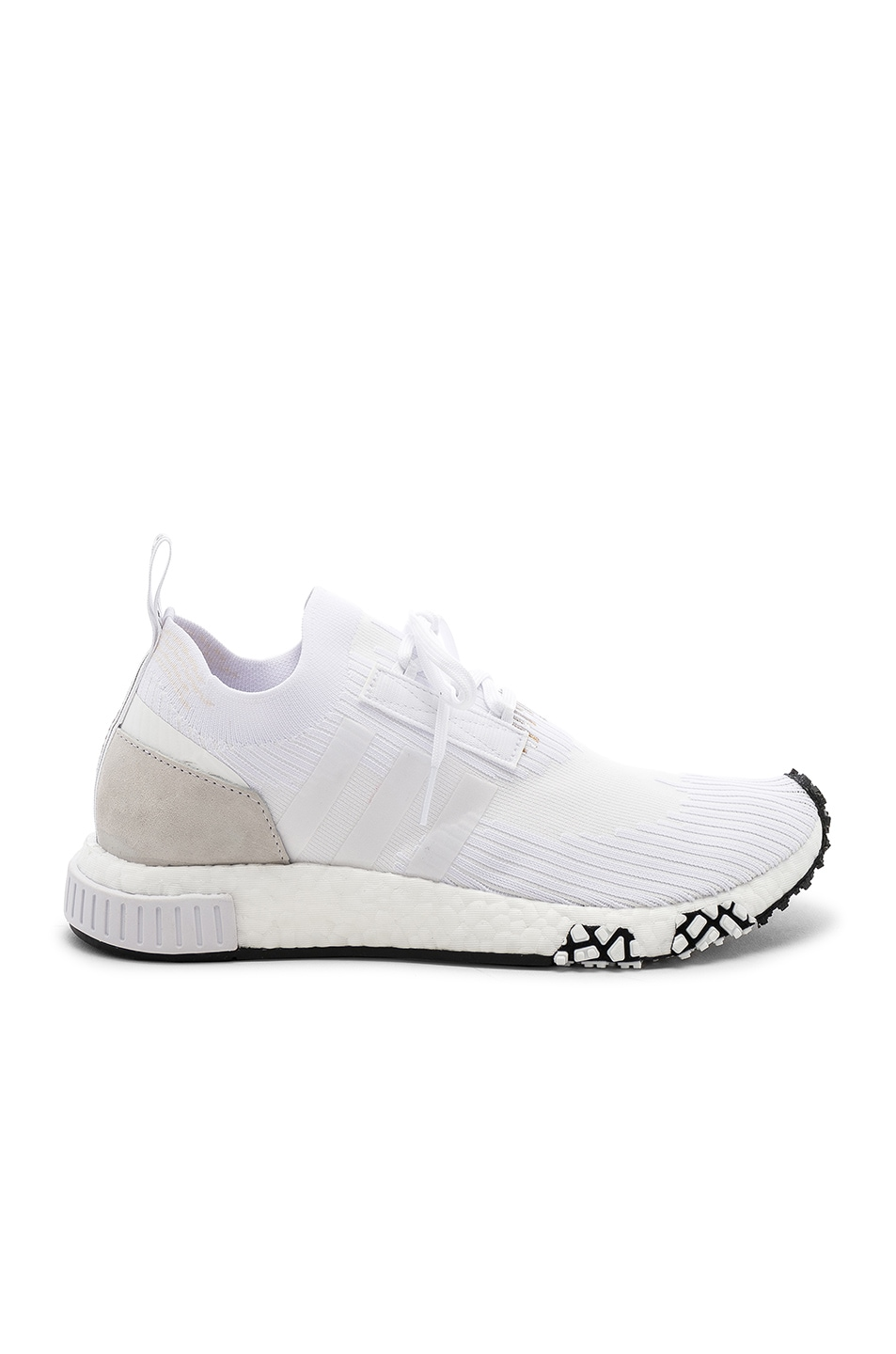8686132f561a2 Image 1 of adidas Originals NMD Racer PK in White   White   White