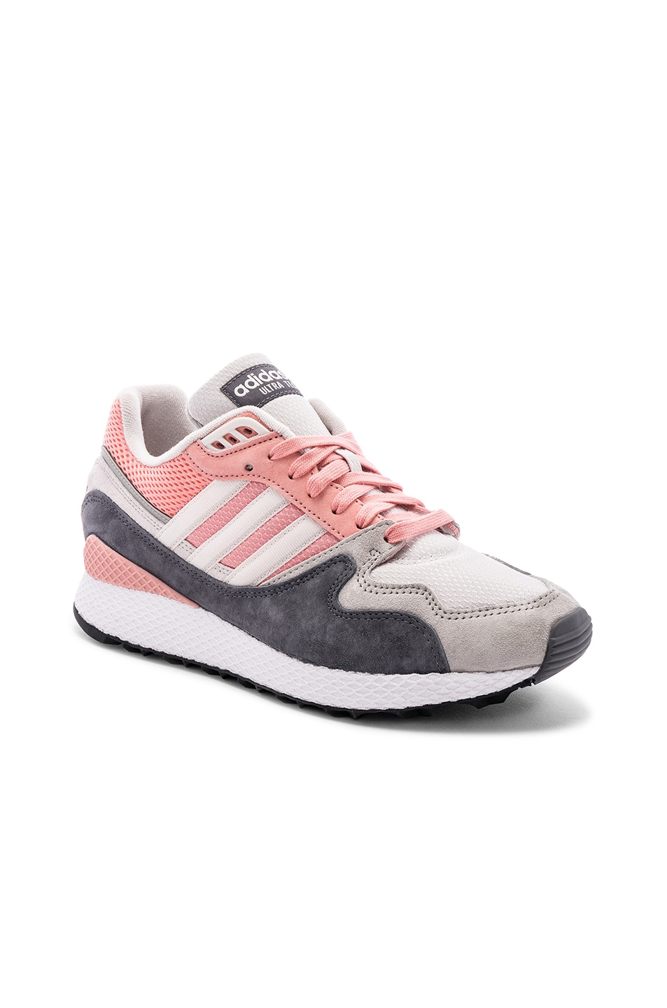 Image 1 of adidas Originals Oregon Ultra Tech in Trace Pink & Crystal White & Black