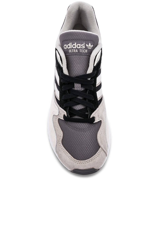 Image 4 of adidas Originals Oregon Ultra Tech in Black & Crystal White & Black