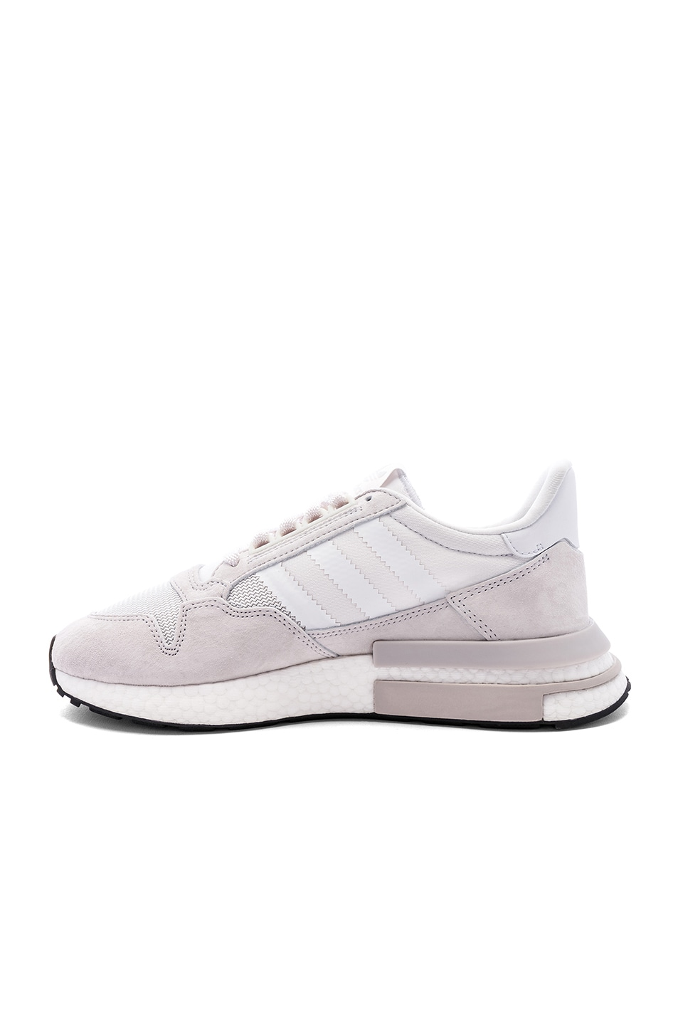 Image 5 of adidas Originals ZX 500 RM in Cloud White & White & Cloud White