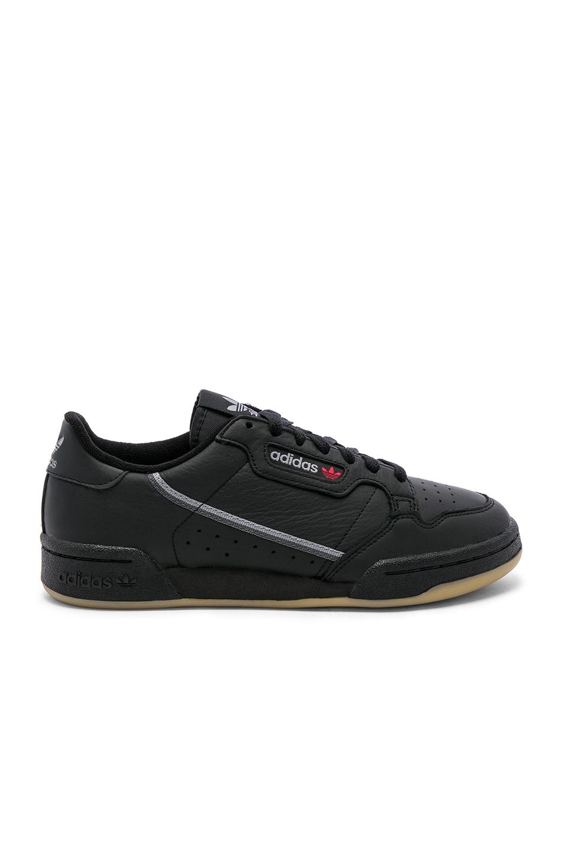 adidas Originals Continental 80 CBlack & Grethr & Gum3 50%OFF