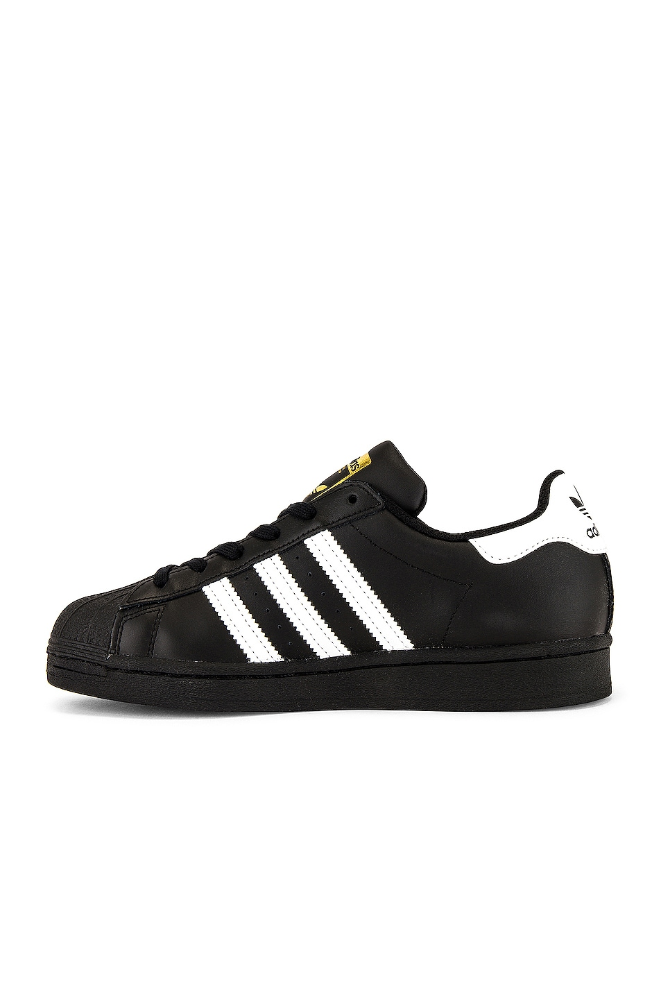 Image 4 of adidas Originals Superstar Foundation in Black & White & Black