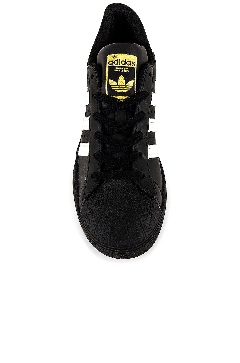Image 5 of adidas Originals Superstar Foundation in Black & White & Black