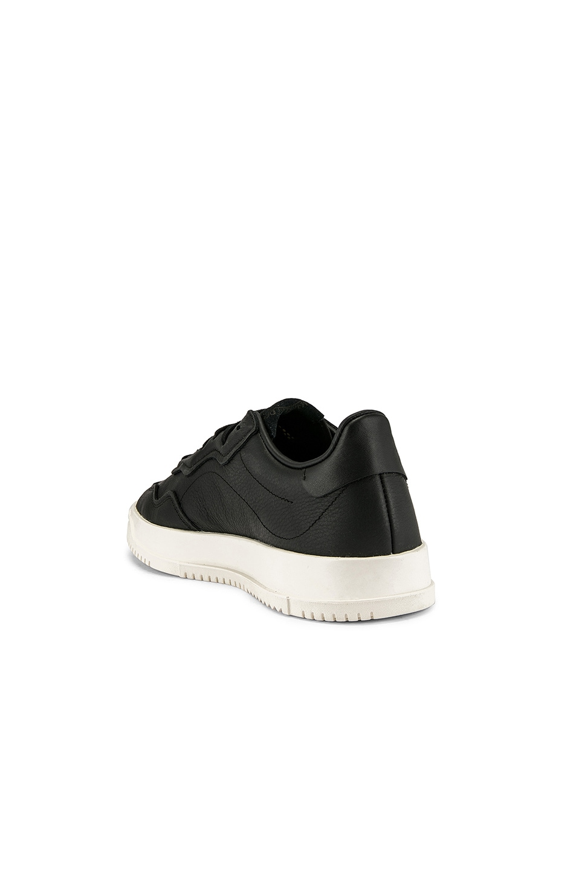 Image 3 of adidas Originals Super Court Premiere in C Black & C White & CLO White