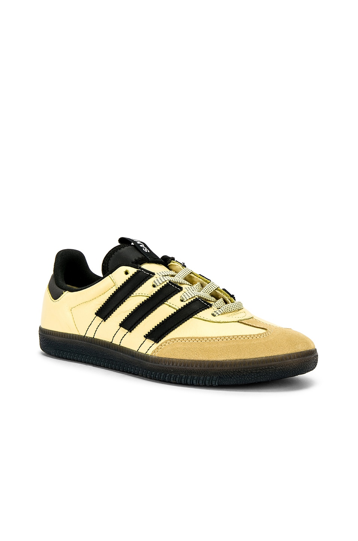 Image 1 of adidas Originals Samba OG MS in Easy Yellow & C Black & FTW White
