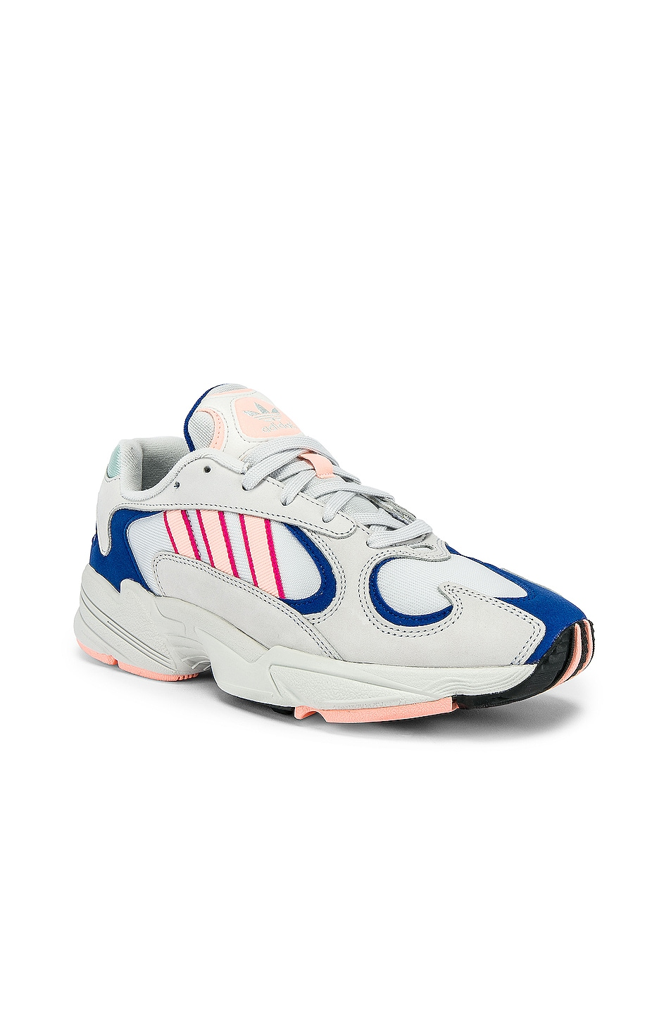 Image 1 of adidas Originals Yung-1 in CRY White & CLEORA & C Royal