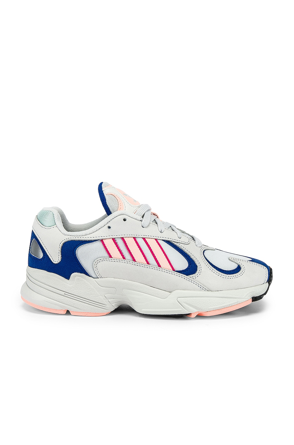 Image 2 of adidas Originals Yung-1 in CRY White & CLEORA & C Royal