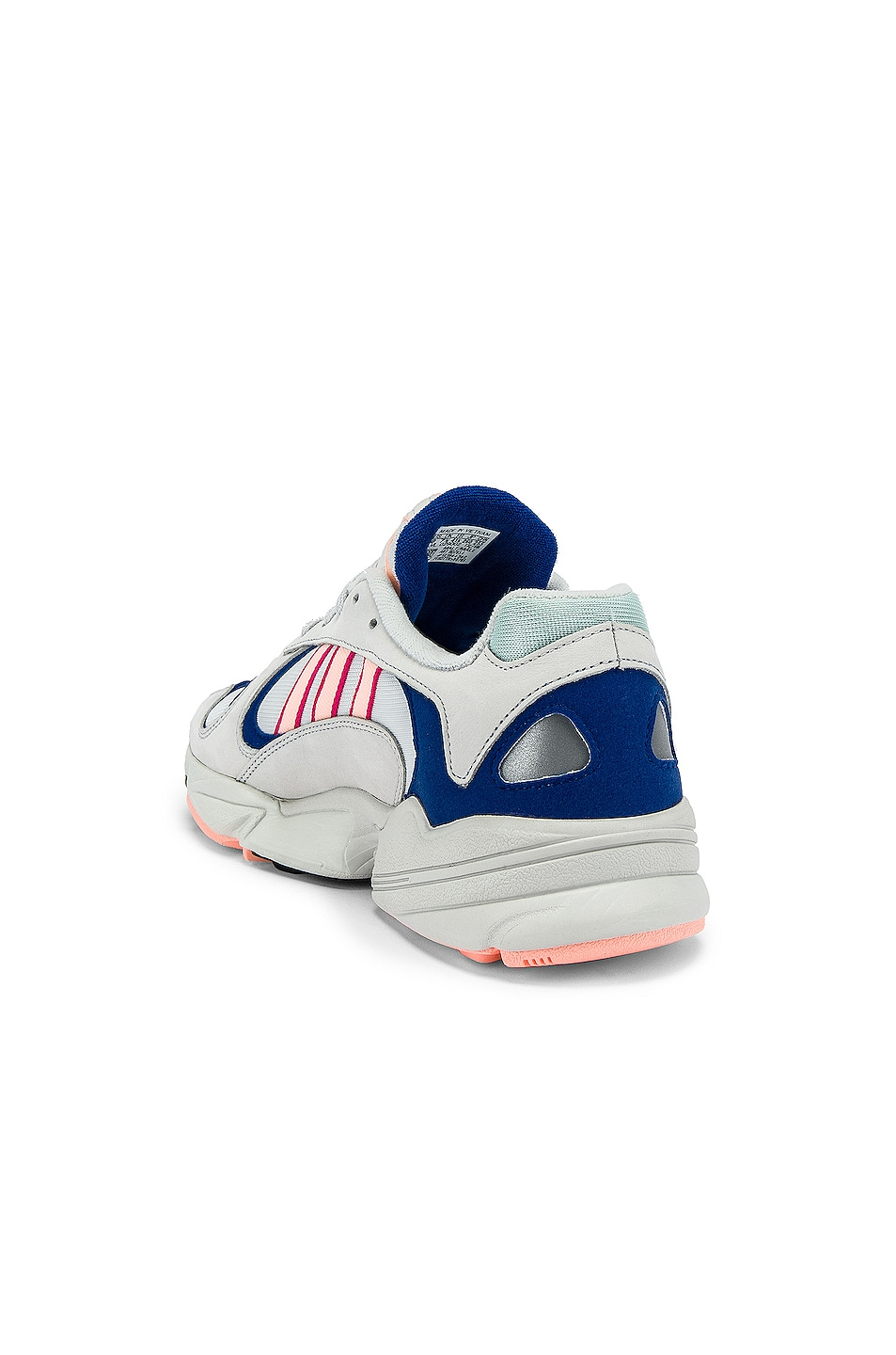 Image 3 of adidas Originals Yung-1 in CRY White & CLEORA & C Royal