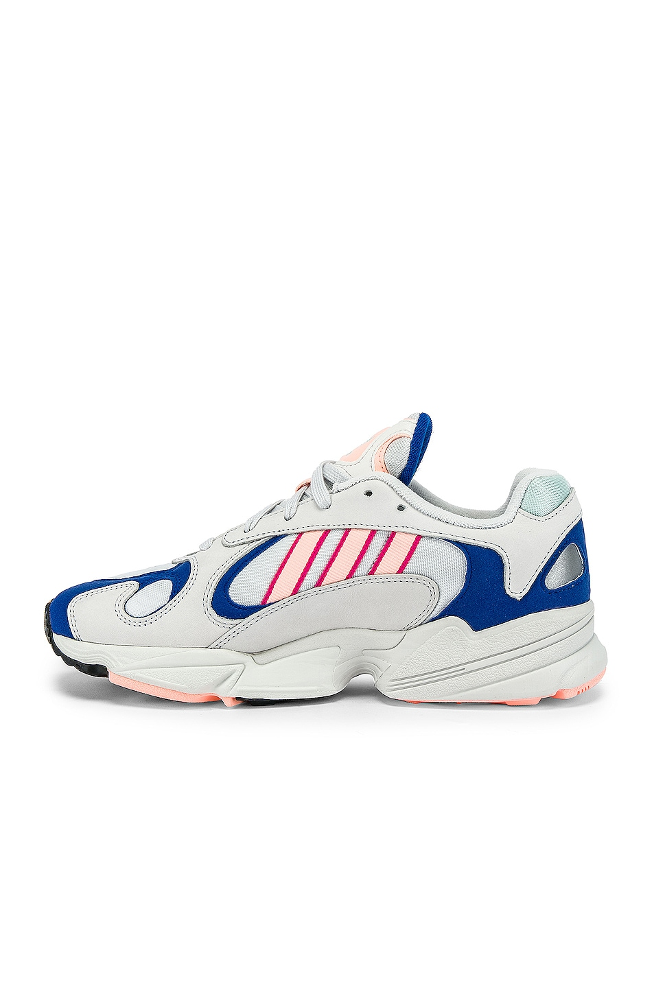 Image 5 of adidas Originals Yung-1 in CRY White & CLEORA & C Royal