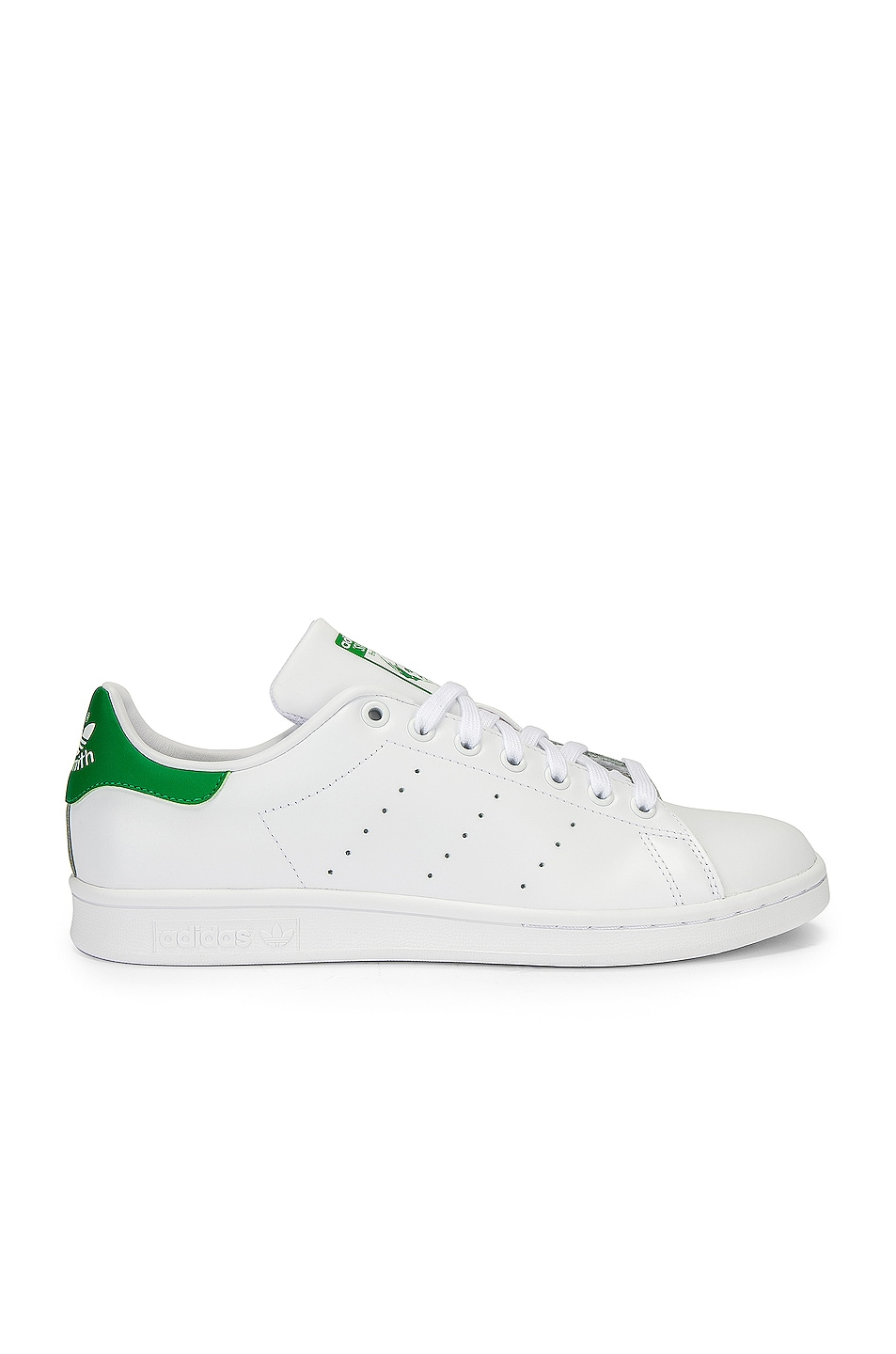 Image 1 of adidas Originals Stan Smith in White & Green