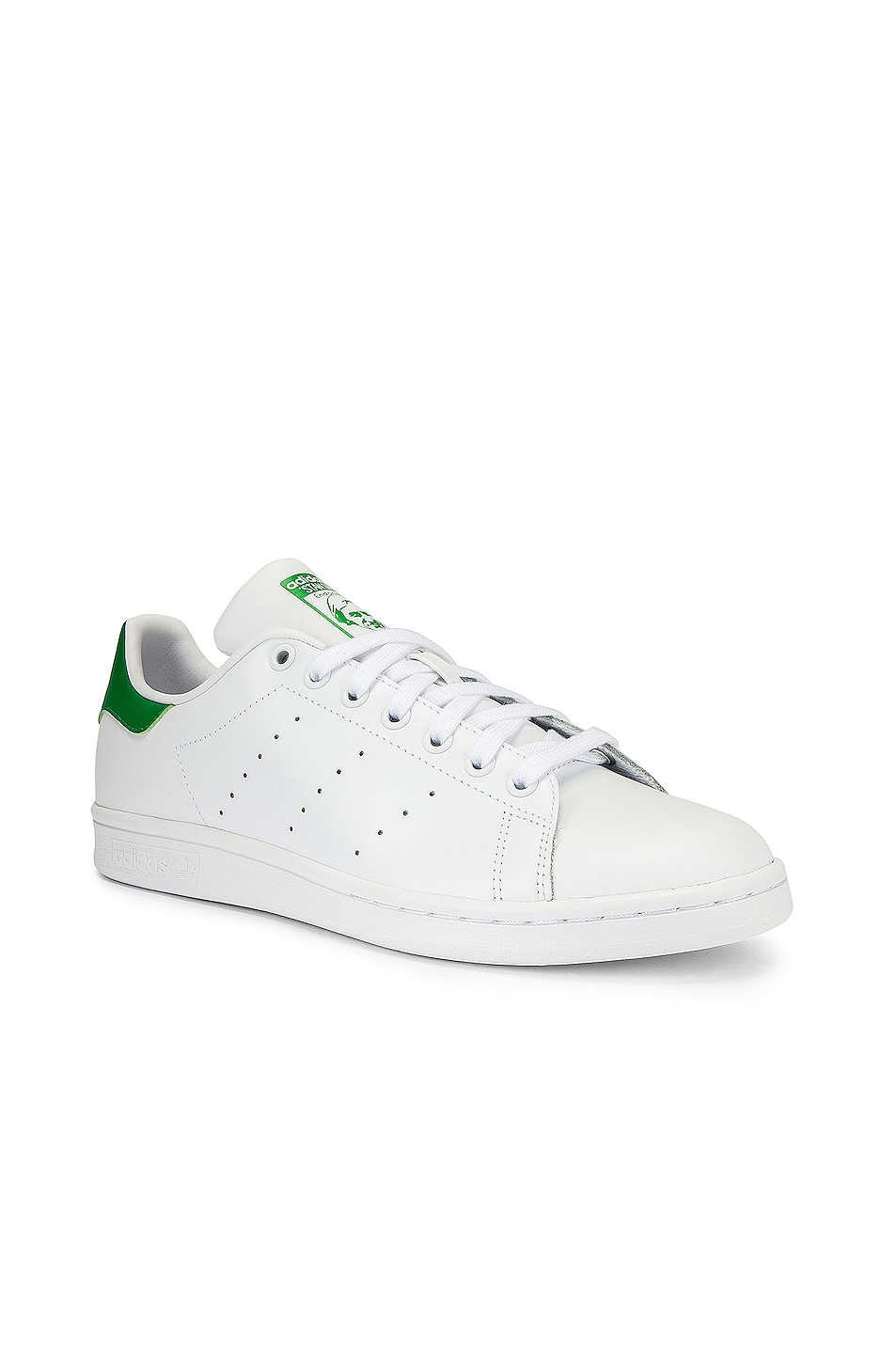 Image 2 of adidas Originals Stan Smith in White & Green