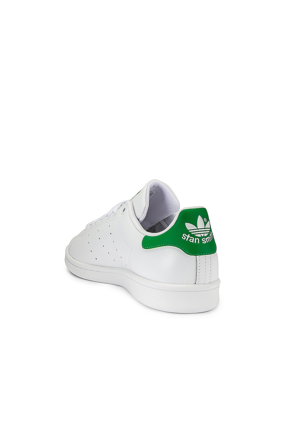 Image 3 of adidas Originals Stan Smith in White & Green