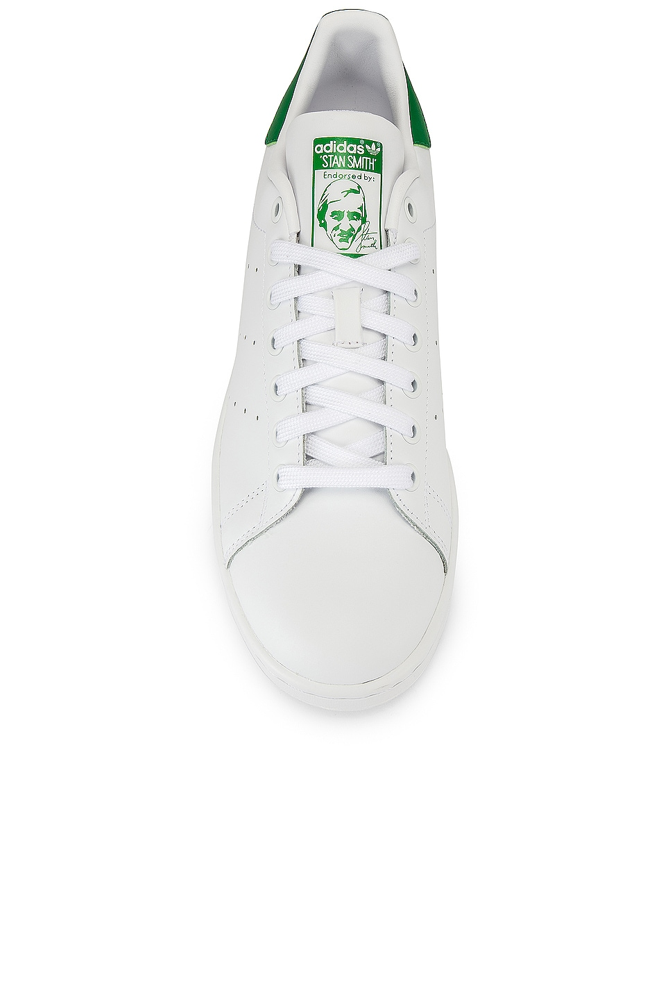 Image 4 of adidas Originals Stan Smith in White & Green