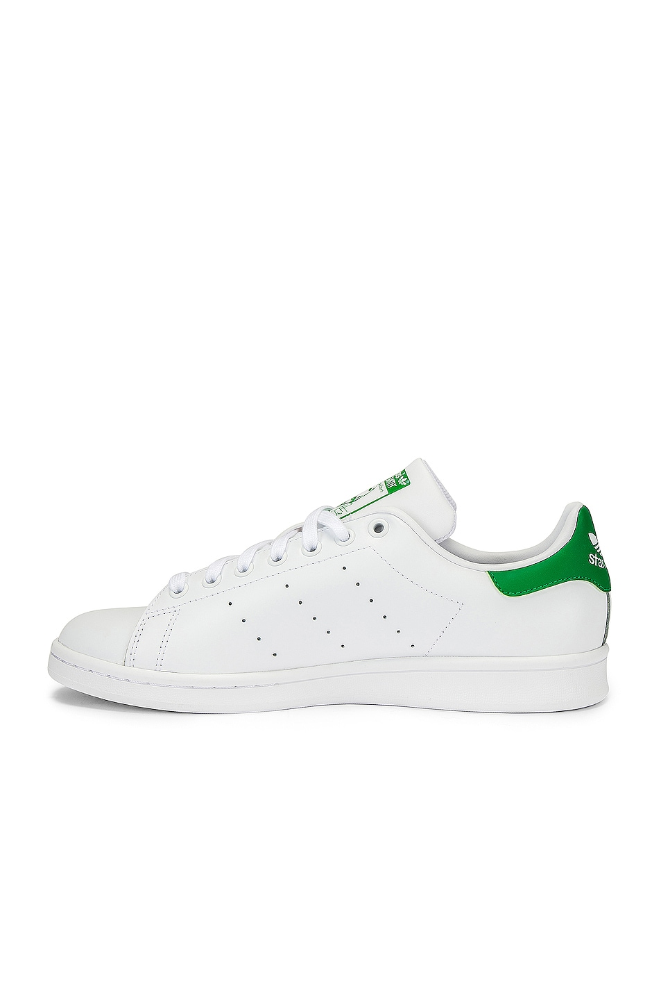 Image 5 of adidas Originals Stan Smith in White & Green