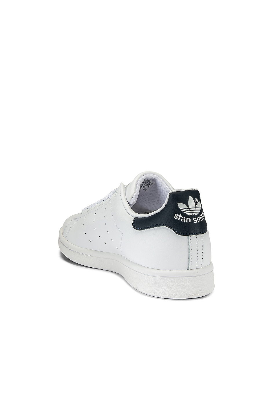 Image 3 of adidas Originals Stan Smith in White & Dark Blue