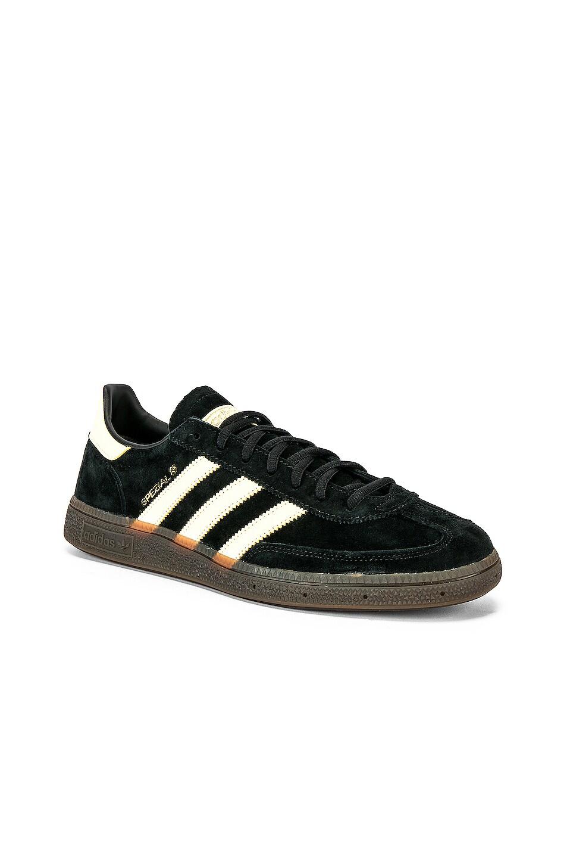 Image 2 of adidas Originals Handball SPZL in C Black & EAS Yellow & Gum5
