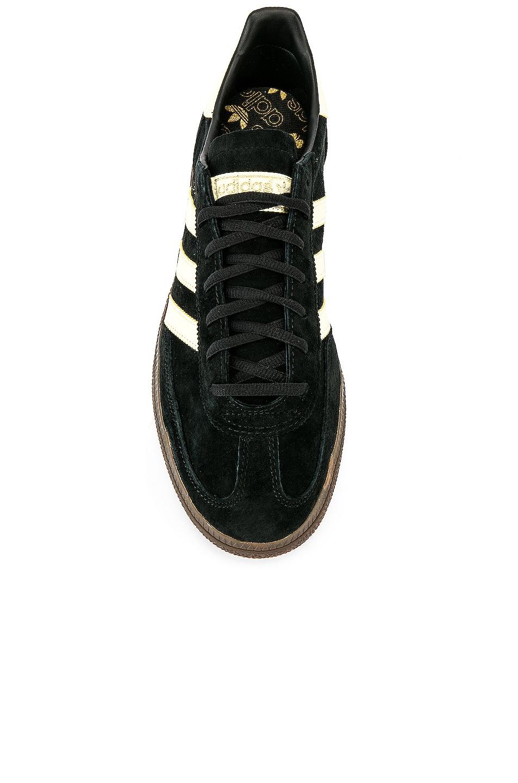 Image 4 of adidas Originals Handball SPZL in C Black & EAS Yellow & Gum5
