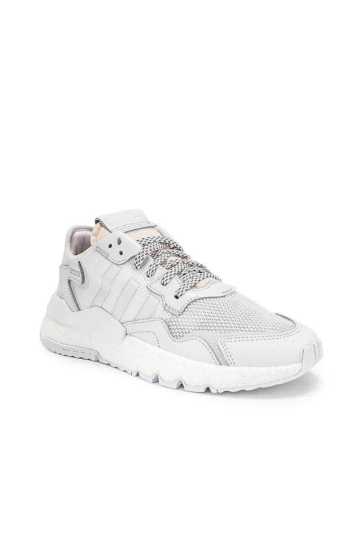 Image 1 of adidas Originals Nite Jogger in White