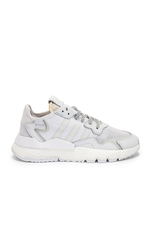 Image 2 of adidas Originals Nite Jogger in White