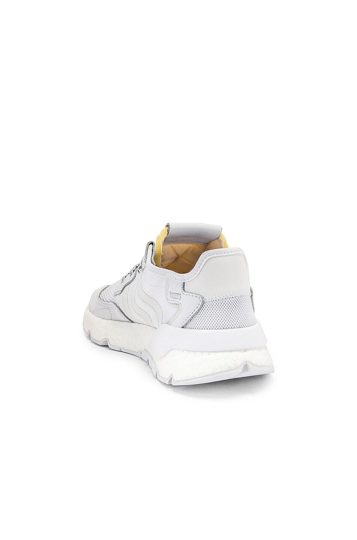 Image 3 of adidas Originals Nite Jogger in White