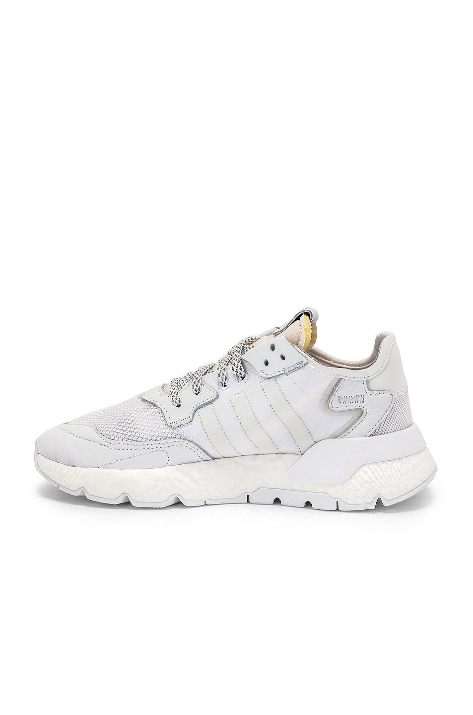 Image 5 of adidas Originals Nite Jogger in White