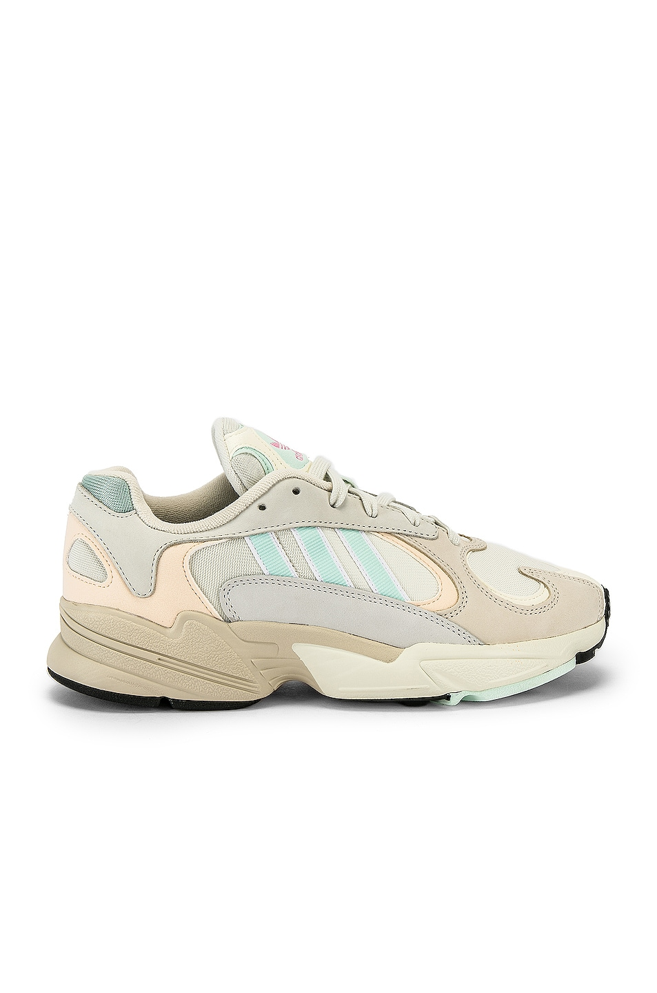 Image 2 of adidas Originals Yung-1 in Off White & Ice
