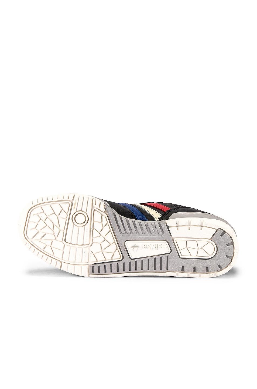 Image 6 of adidas Originals Rivalry Low in Core Black & Cloud White & Cream White