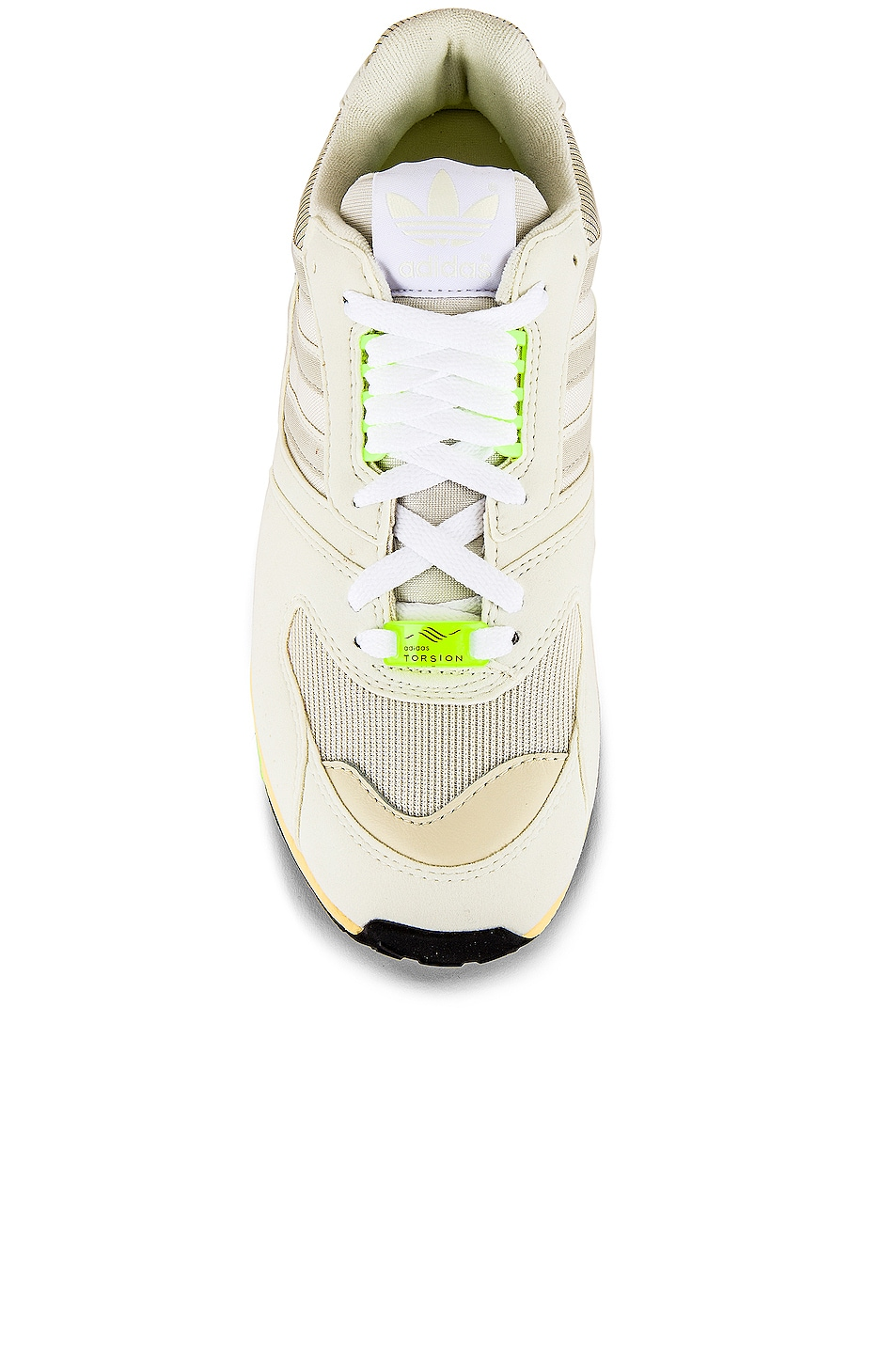 Image 4 of adidas Originals Adidas ZX 400 in Off White & White & Core White