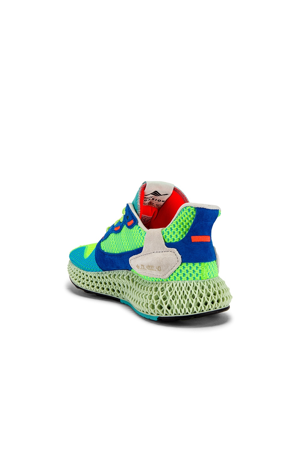 Image 3 of adidas Originals ZX4000 4D Sneaker in