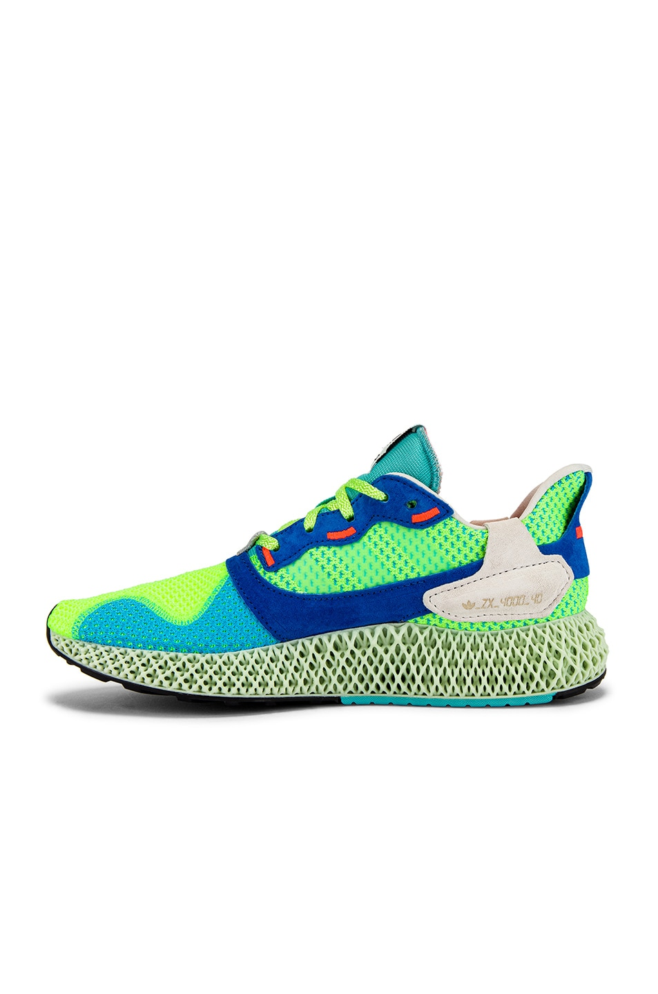Image 5 of adidas Originals ZX4000 4D Sneaker in
