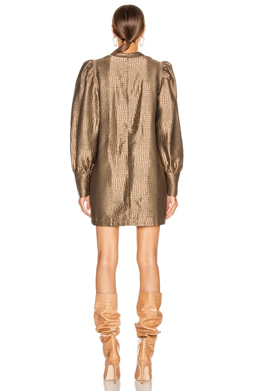 Image 4 of ANDAMANE Baylee Mini Dress in Bronze Coconut