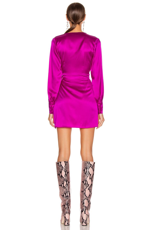 Image 4 of ANDAMANE Carly Mini Dress in Fuchsia