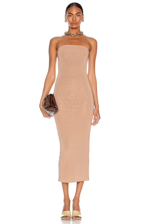 Image 1 of ANDAMANE Gisele Tube Dress in Blush