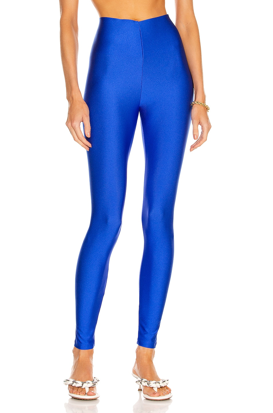 Image 1 of ANDAMANE Holly 80's Legging in Electric Blue