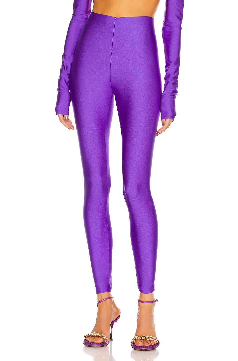 Image 1 of ANDAMANE Holly 80's Legging in Purple