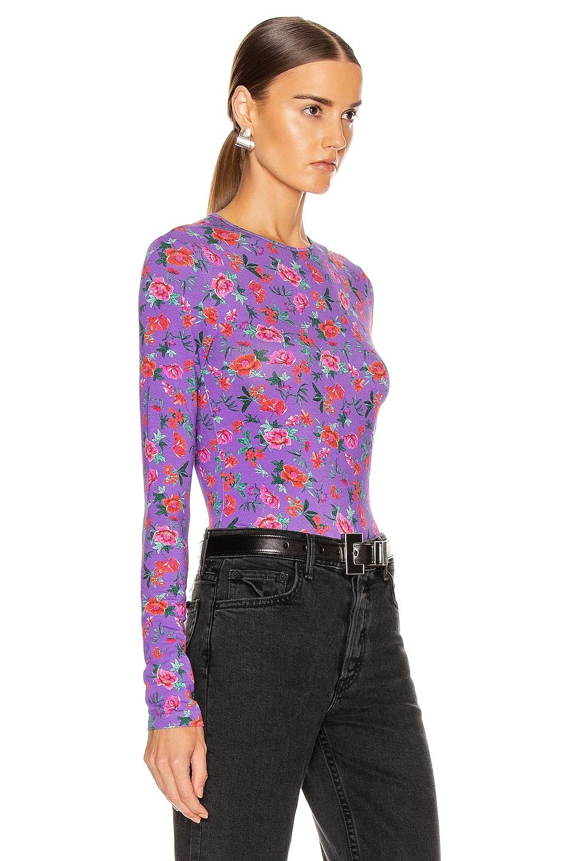 Image 2 of ANDAMANE Cornelia Top in Floral Multi Lilac