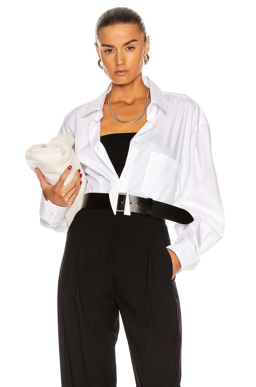 Image 1 of ANDAMANE Georgiana Shirt in White