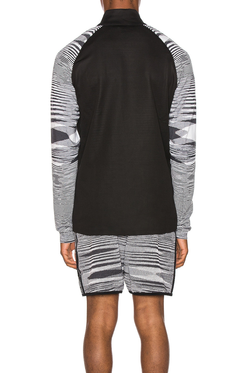Image 4 of adidas by MISSONI PHX Jacket in Black & Grey & White