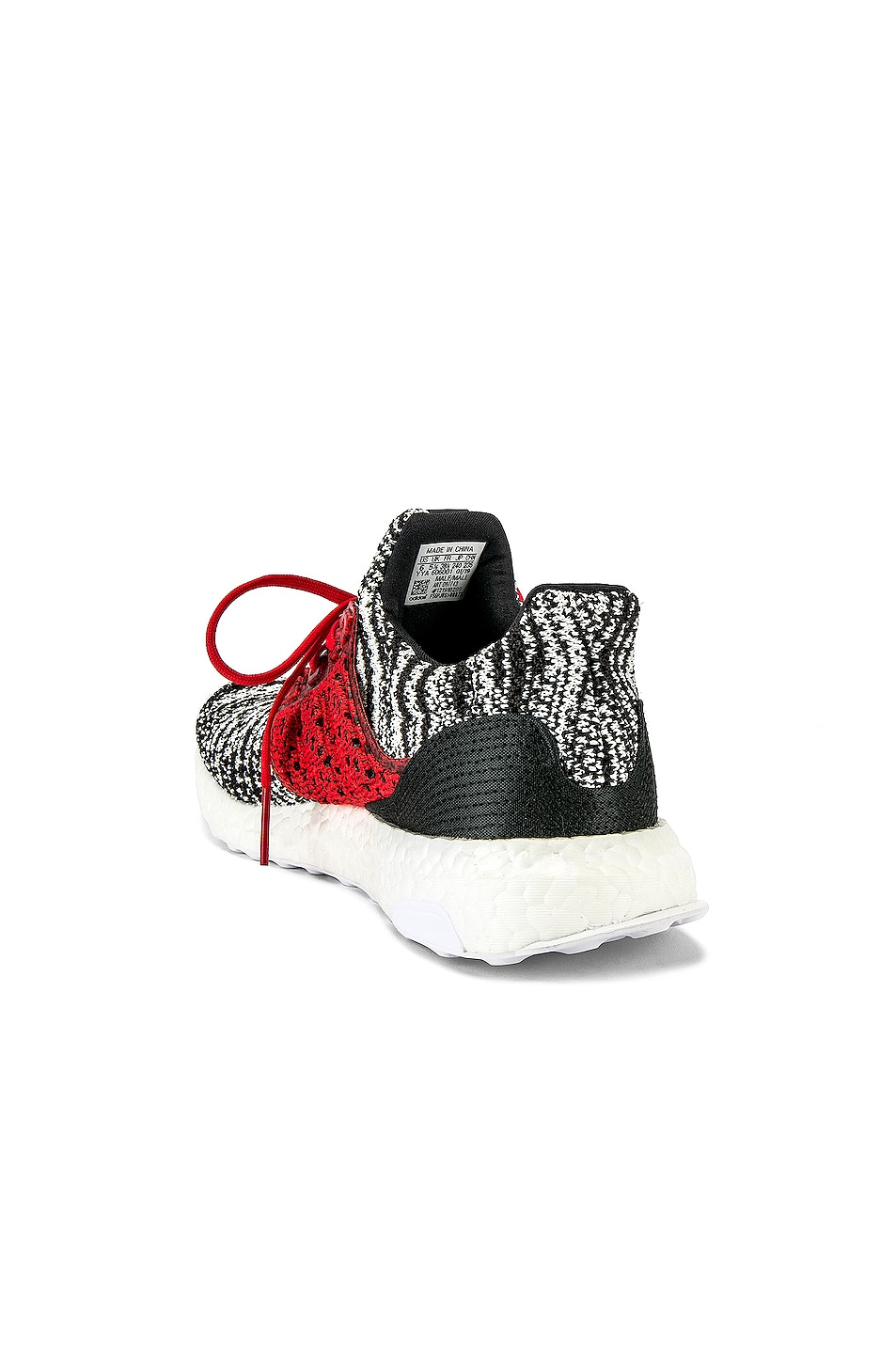 Image 3 of adidas by MISSONI Ultraboost Clima Sneaker in Black & White & Red