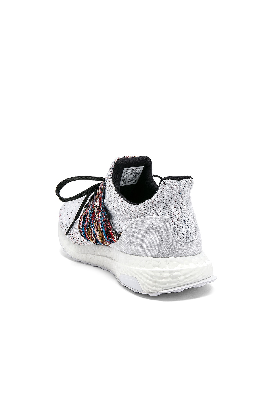 Image 3 of adidas by MISSONI Ultraboost Clima Sneaker in White & Red
