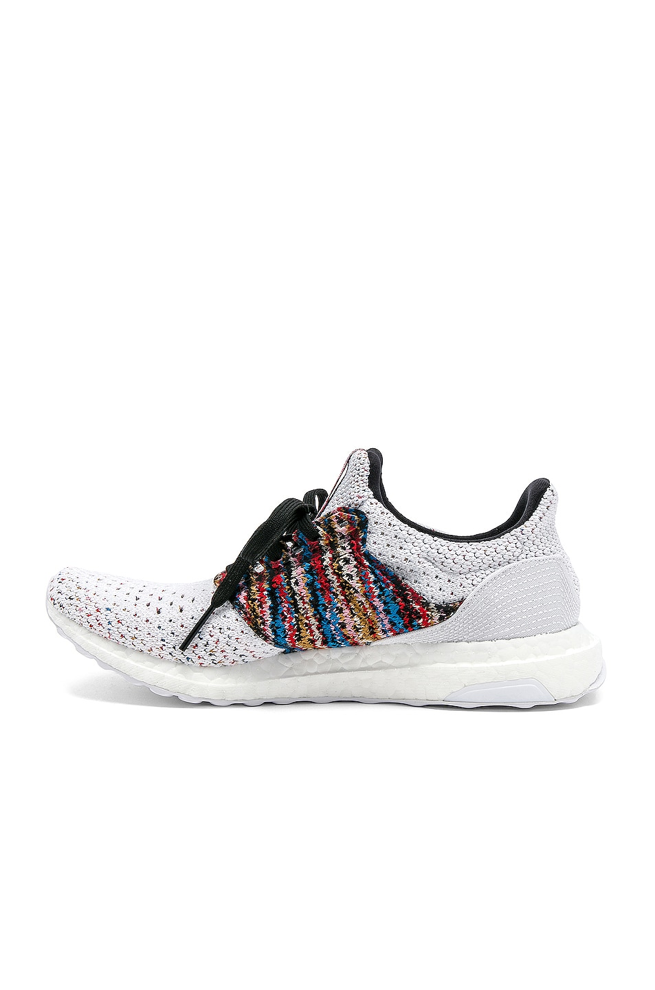 Image 5 of adidas by MISSONI Ultraboost Clima Sneaker in White & Red