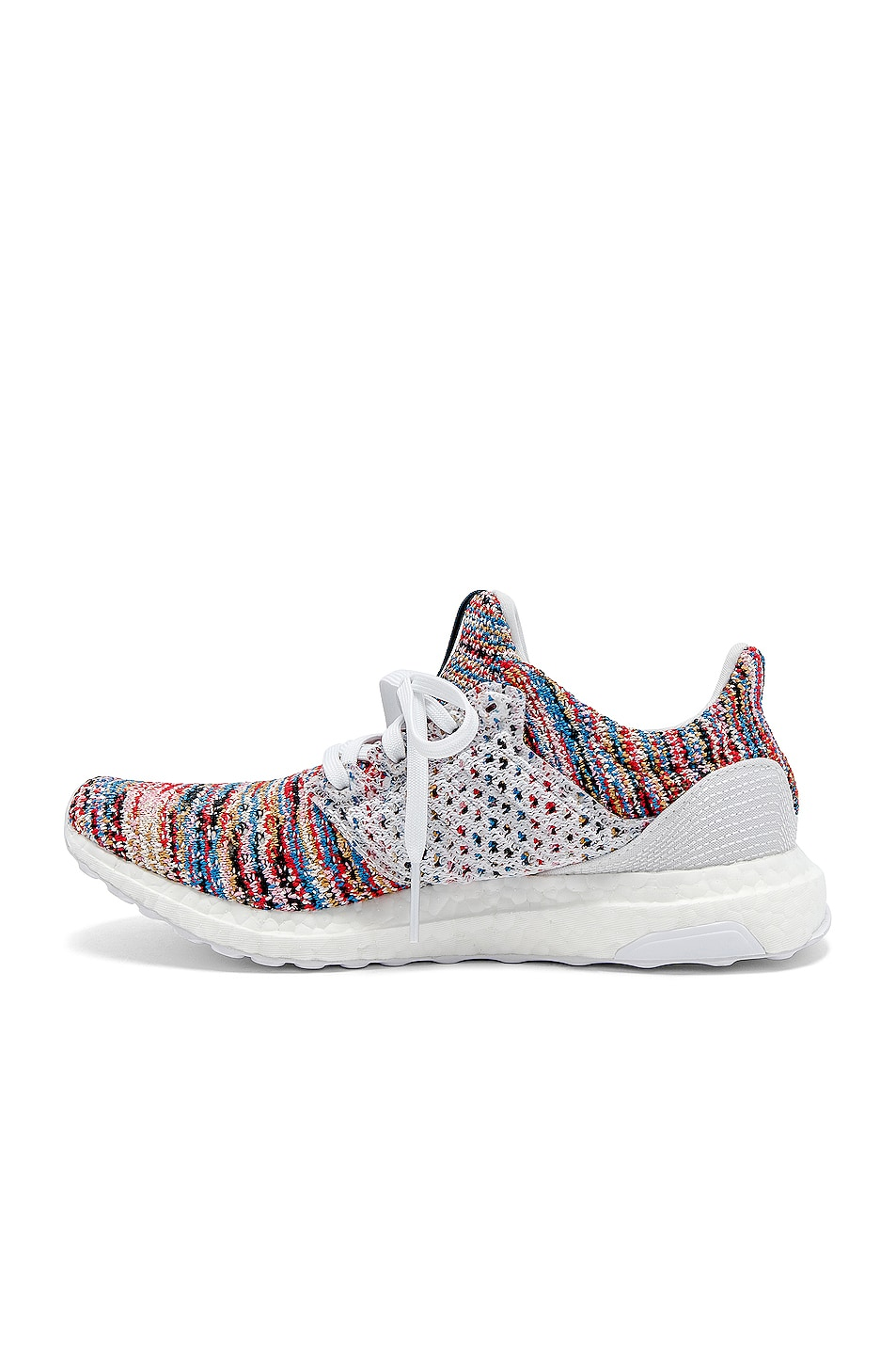 Image 5 of adidas by MISSONI Ultraboost Clima Sneaker in White & Cyan & Red