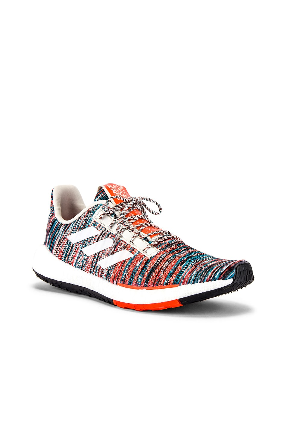 Image 1 of adidas by MISSONI Pulseboost HD in White & Active Orange