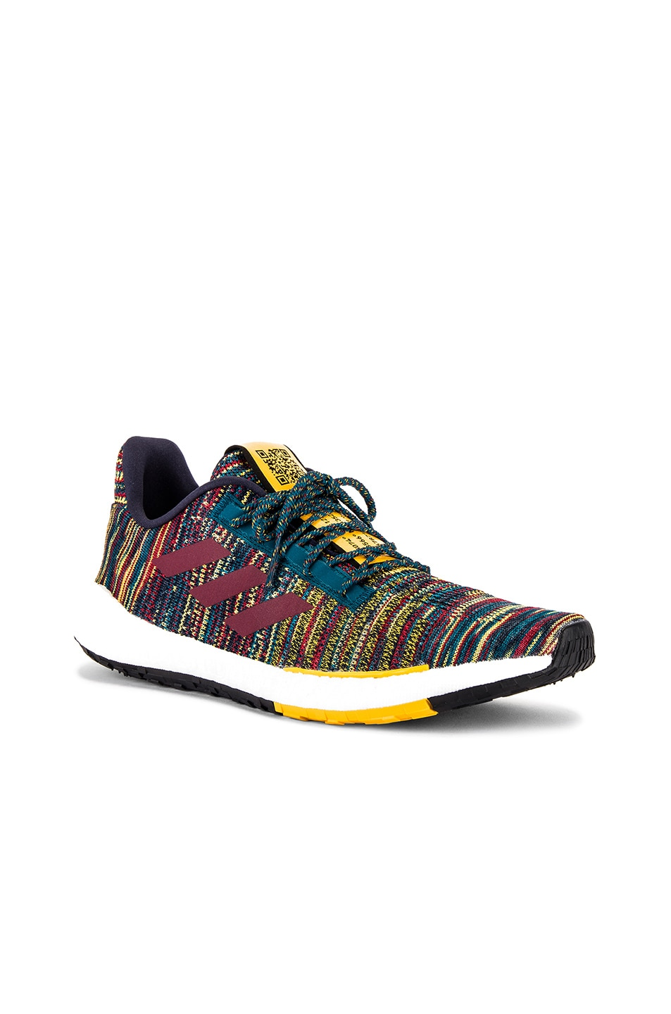 Image 2 of adidas by MISSONI Pulseboost HD in Tech Mineral & Collegiate Burgundy & Active Gold