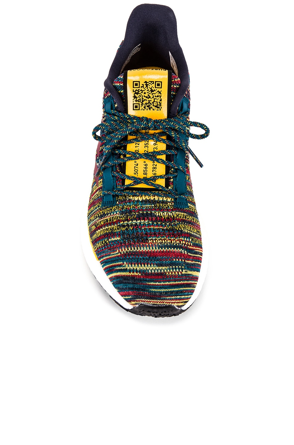 Image 4 of adidas by MISSONI Pulseboost HD in Tech Mineral & Collegiate Burgundy & Active Gold