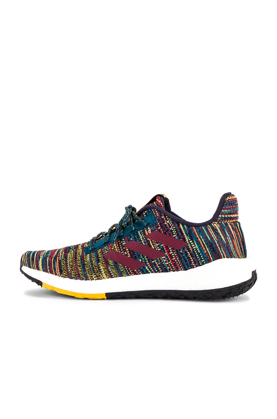 Image 5 of adidas by MISSONI Pulseboost HD in Tech Mineral & Collegiate Burgundy & Active Gold